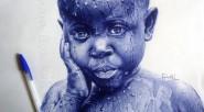 Tristeza El joven artista africano Enam Bosokah tiene la sorprendente habilidad de crear retratos hiperrealistas con un bolígrafo, un material tan simple como inimaginable. A pesar de haber incursionado en […]