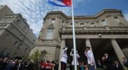 La bandera de Cuba ondea en los Estados Unidos, como consecuencia de la reapertura de relaciones entre ambos países.  El canciller cubano, Bruno Rodríguez, felicitó hoy a sus funcionarios […]