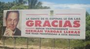 Con recursos económicos provenientes de la alcaldía municipal de El Espinal se hizo el lanzamiento de la candidatura presidencial de Germán Vargas Lleras en las carreteras del departamento del Tolima, […]