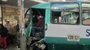 Un bus provisional del SPTP, fue el protagonista de un accidente que estuvo a punto de causar una tragedia, por cuanto se movilizaba con sobrecupo. Foto Primicia DiarioLos pasajeros fueron […]