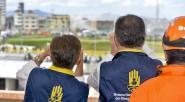 Acompañado por el Director de la Unidad Nacional para la Gestión del Riesgo de Desastres, Carlos Iván Márquez, el Presidente Juan Manuel Santos observó en el centro de Bogotá,la demolición […]