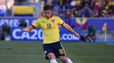 El capitán James Rodríguez , sobre el final de la primera parte, anotó el primer tanto colombiano tras recibir una asistencia de Bacca y definir con un remate rasante al […]