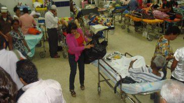 Hacinamiento en la unidad de urgencias del Hospital de Kennedy una sobreocupación del 128%, en una visita realizada al centro de atención en salud .      […]