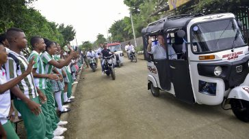 El presidente Santos, llegó a bordo de un mototaxi a Nuquí- Chocó, dónde exigió el pronto nombramiento de los magistrados del Tribunal que aplicará la Justicia Transicional.    […]