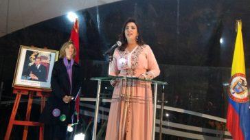 Intervención de laEmbajadora de Marruecos en Colombia,Farida Loudaya, durante una recepción diplomática en Bogotá, con ocasión de la celebración del Décimo octavo aniversario del acceso al Trono de Su Majestad […]