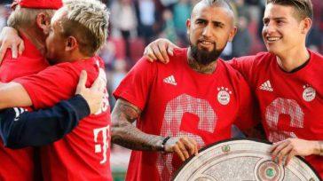 James Rodríguez celebra con el chileno Arturo Vidal el título anticipado del Bayern Múnich.Efe       James Rodríguez podría decir que es el único colombiano que […]