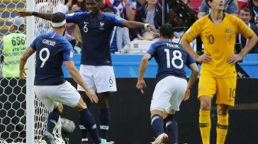 Franciatuvo que sudar mucho para imponerse aAustraliaen su debut en elMundialdeRusia(2-1). Un gol deGriezmannde penalti en el minuto 57 -concedido por el videoarbitraje.   Francia derrotó 2-1 a Australia […]