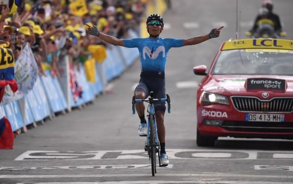 En el ascenso, Nairo impuso un ritmo fuera de serie y se alejó en camino a la victoria, mas de cinco minutos les saco a los mejores ciclistas del mundo. […]