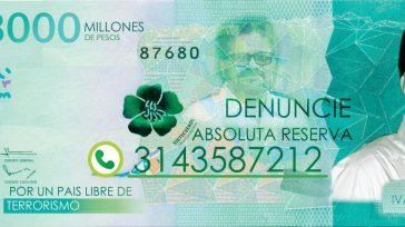 Confidencias: ALTA TENSIÓN Desde la esquina        CAPTURA DE MÁRQUEZ Una estrategia de publicidad anunciando la recompensa de 3 mil millones de pesos porIván […]