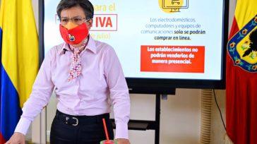 Suplicando laalcaldesa de Bogotá, Claudia López, le solicitó a los habitantes de la capital tomar las medidas necesarias que eviten el contagio del coronavirus.   La alcaldesa de Bogotá, […]