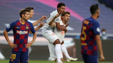 Bayern Munich aplastó 8 a 2 al Barcelona y pasó a la semifinal de laChampions League.   EFE Bayern ridiculizó a un Barcelona indefenso con un 2-8 inapelableque volvió […]