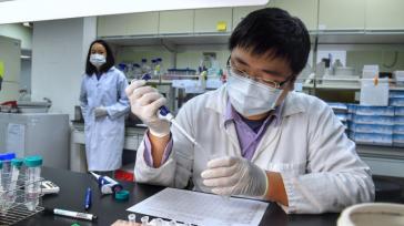 El kit de prueba rápida ha sido validado por un exhaustivo estudio clínico realizado por el Hospital de la Universidad Nacional de Taiwan. (Foto de CNA)   Jaushieh Joseph […]