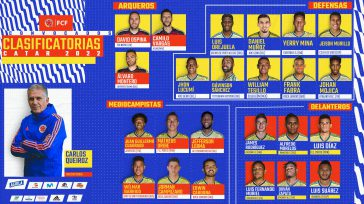 Todo el equipo en busca de seis puntos más.   Confirmada la ausencia de Falcao García, por lesión; además, entre las novedades están el regreso de David Ospina y […]