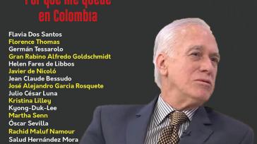 Gustavo Castro Caycedo autor del libro«Por qué me quedé en Colombia»   Orbedatos El libro, «Por qué me quedé en Colombia», de Gustavo Castro Caycedo, seleccionado como uno de […]