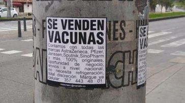 Confidencias: ALTA TENSIÓNESTAFA A LA VISTA  ¿VACUNAS? En las redes sociales circula la fotografía de un supuesto volante que anuncia que hay vacunas a la venta de las diferentes […]