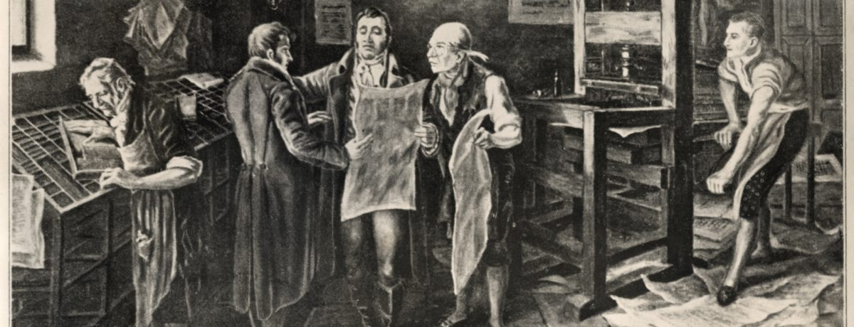 Antonio Nariño y Francisco Antonio Zea en la imprenta.  Magda Ortega En días pasados, una turba indolente e ignorante de la historia de Colombia, así como de la figura […]