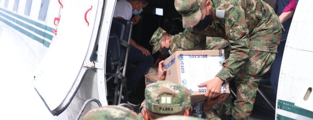 Insumos hospitalarios llegan al Cauca  3.5 toneladas de material médico e insumos hospitalarios se entregan hoy al departamento del Cauca, gracias a las coordinaciones adelantadas por la Oficina del […]