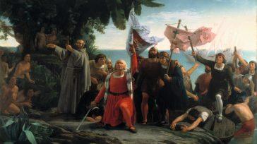 Desembarco de Colón  Gerney Ríos González Cristoforo Colombo, en su primer viaje de 1492 a 1493, llegó a las islas ubicadas en el Caribe: Guanahaní, bautizada San Salvador, Cuba […]