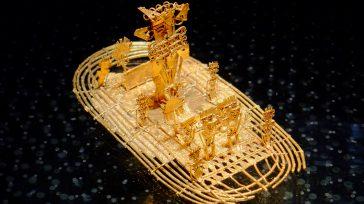 La Balsa Muisca, figura en oro que representa la ceremonia que tenía lugar en la Laguna de Guatavita.    Gerney Ríos González Apartes de la historia colombiana indican […]